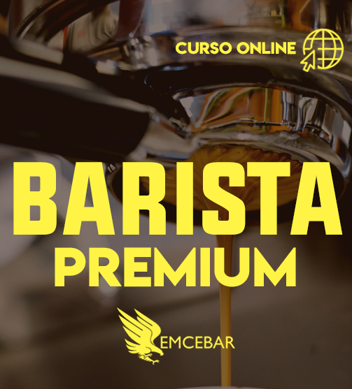Curso barista online de paquete premium