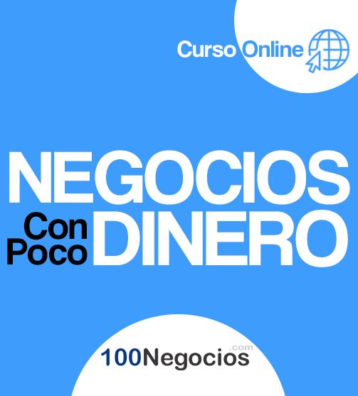 Negocios Con Poco Dinero