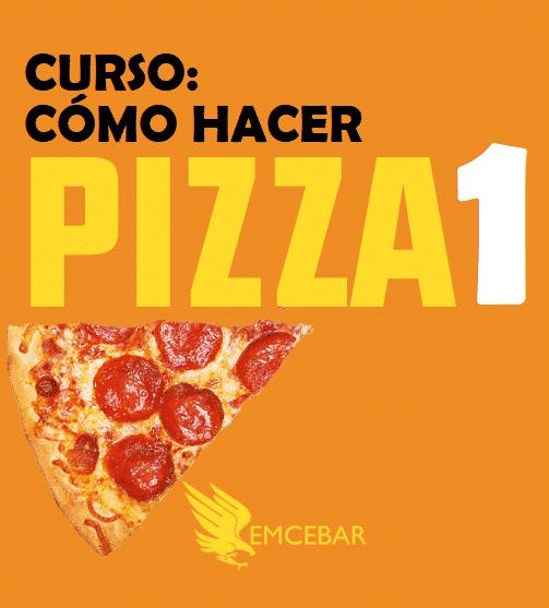 Cómo Hacer Pizza (Paquete Cursos Gastronomía)