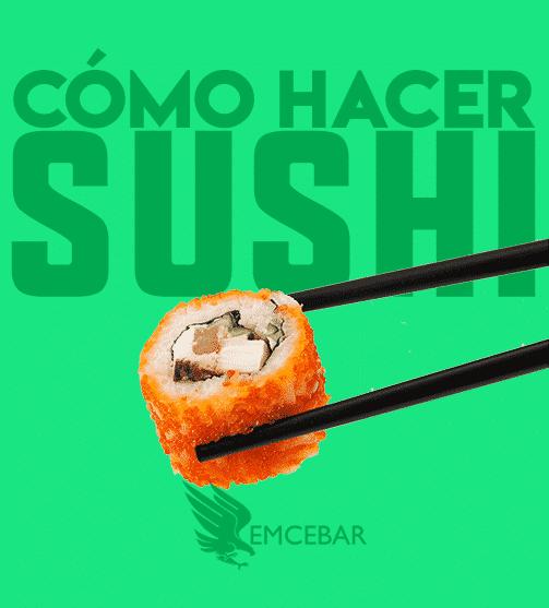 Curso Cómo Hacer Sushi