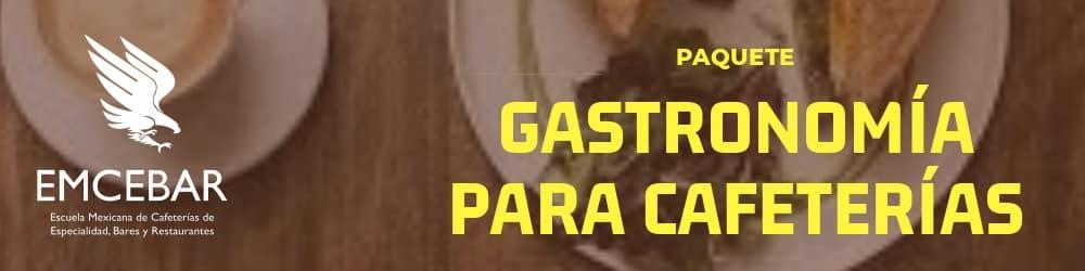 CURSOS GASTRONOMIA PARA CAFETERIAS