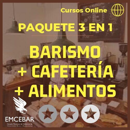 paquete cursos online cafeterias