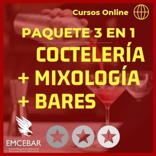 cursos online cocteleria mixologia