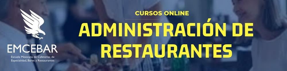 cursos online administracion restaurantes