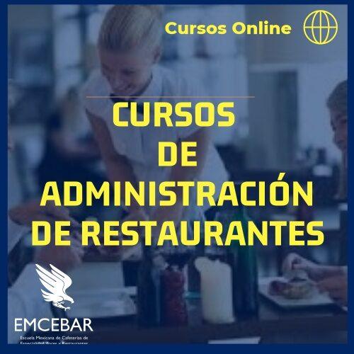 Cursos de Administración de Restaurantes Online