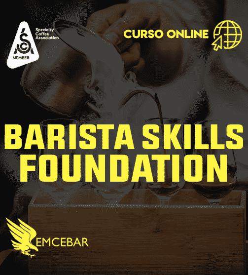 Barista Foundation Skills (Curso SCA con Certificación)